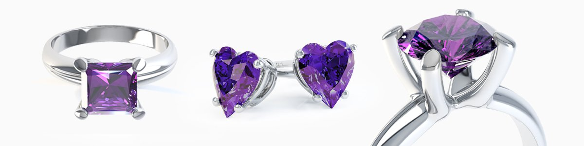 Amethyst Jewelry - from Earrings to Pendants to Rings to Bracelets