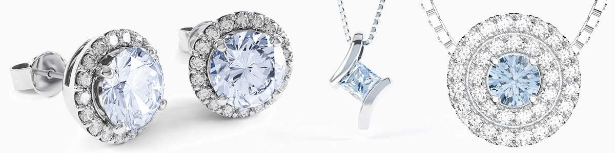 Aquamarine Jewelry - from Earrings drops to Pendants to Rings to Bracelets
