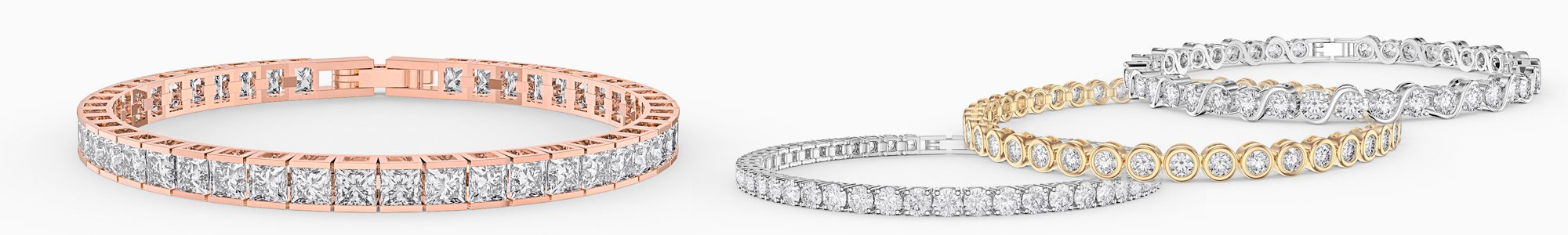 Bracelets for everyone - from precious gemstones to Diamonds. From Silver to 18K Gold.