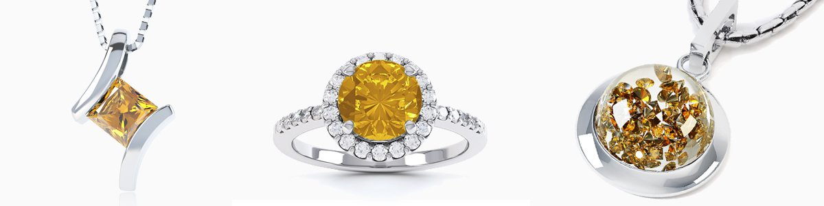 Citrine Jewelry - from Earrings Studs and Drops to Pendants to Rings