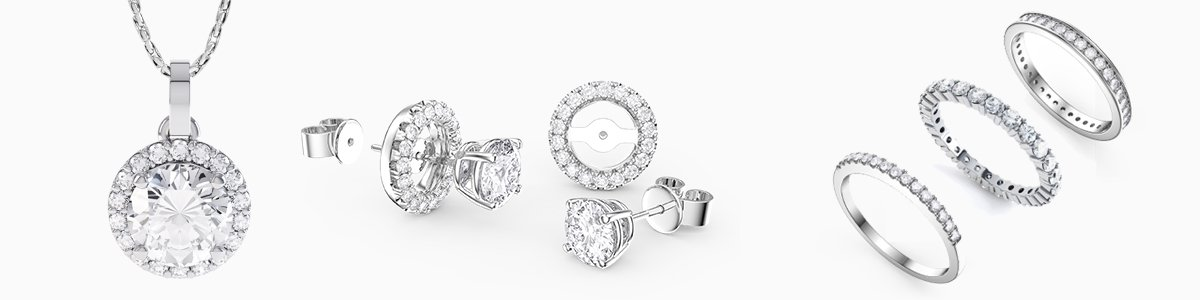Shop Diamond Jewelry by Jian London. Choose from a great selection of Rings, Earrings, Necklaces, Bracelets, Pendants, Lockets and more at everyday low prices from Jian London. Free US Delivery.