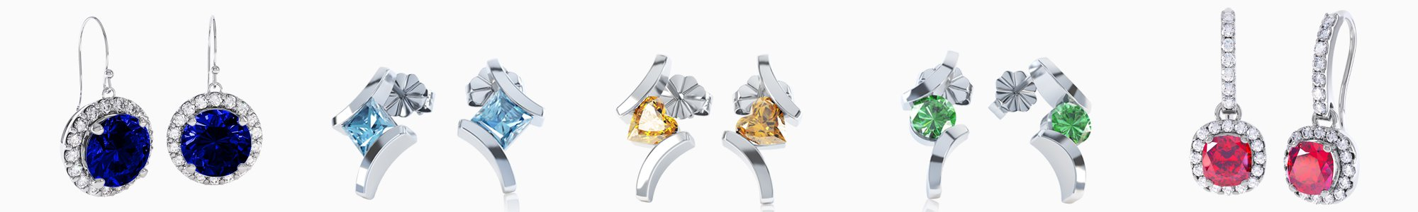 Shop Gemstone Earrings by Jian London. Buy direct and save from our wide selection of Gemstone Earrings at the Jian London jewelry Store. Free US Delivery