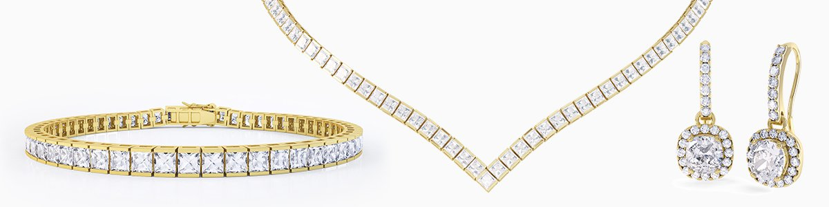 Jewelry-Sets - from precious gemstones to Diamonds. From Silver to 18ct Gold.