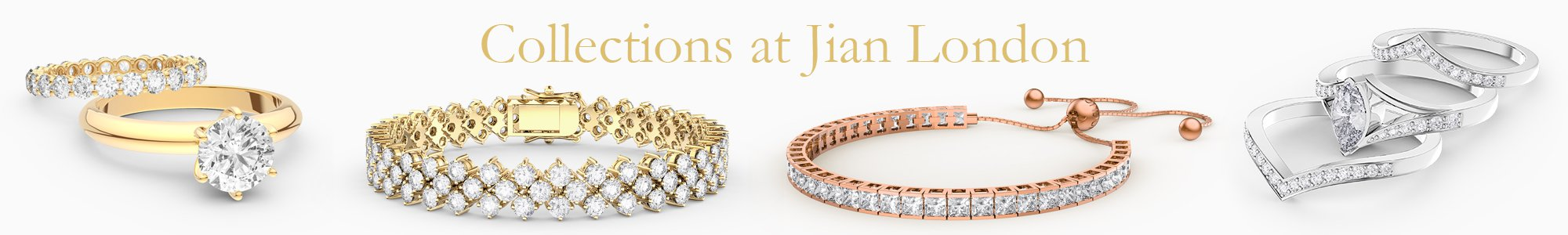 Jewelry Collections for everyone - from precious gemstones to Diamonds. From Silver to 18K Gold.