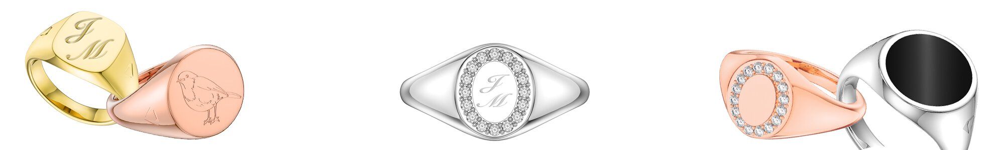 The Signature Collection - Stunning Jewelry Personlised with an engraved message