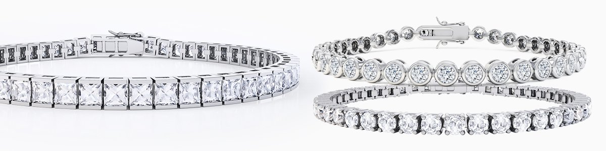 Silver Bracelets for everyone - from precious gemstones to Diamonds. From Silver to 18ct Gold.