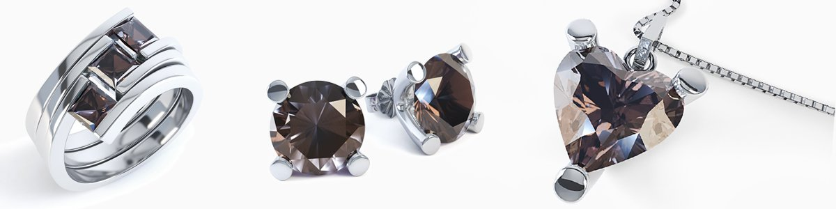 Shop Smokey Quartz Jewelry by Jian London. Choose from a great selection of Rings, Earrings, Necklaces, Bracelets, Pendants, Lockets and more at everyday low prices from Jian London. Free US Delivery.