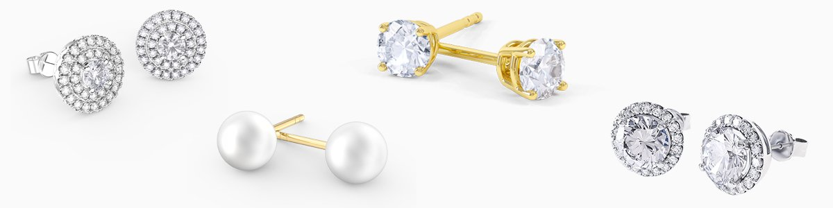 Shop Stud Earrings by Jian London. Choose from our great selection of stud earrings direct at the Jian London Jewelry Store. Free US delivery.