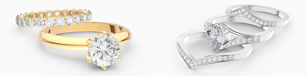 Unity Wedding and Engagement Ring Collection