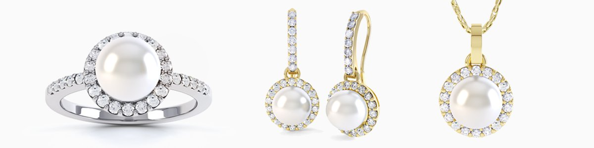 Venus Pearl Collection - Fresh Water Cultured Pearls