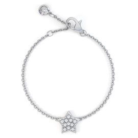 Charmisma GH SI1 Diamond Star 18ct White Gold Bracelet