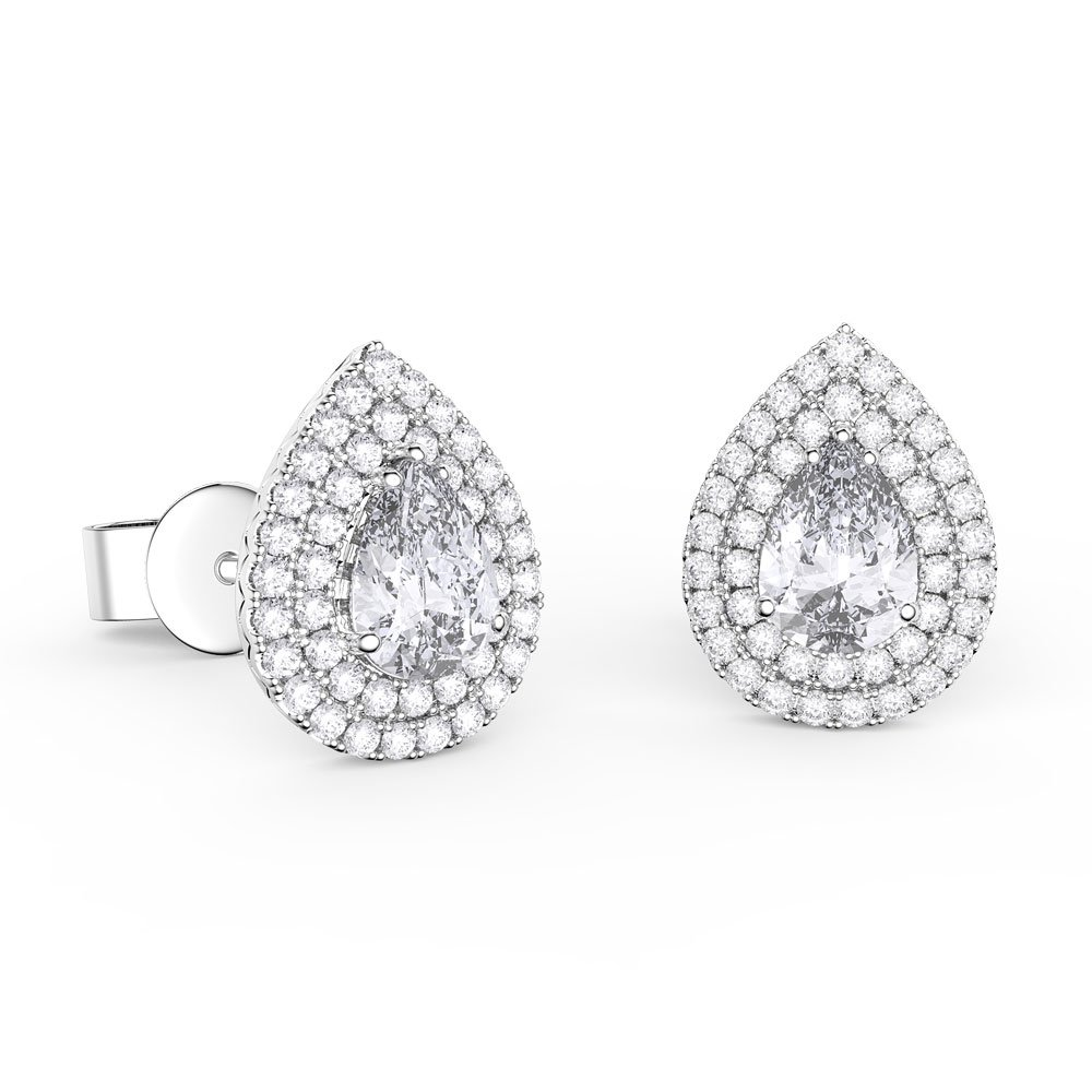 ct white fb diamond earrings solitaire stud products tw certified ags gh w