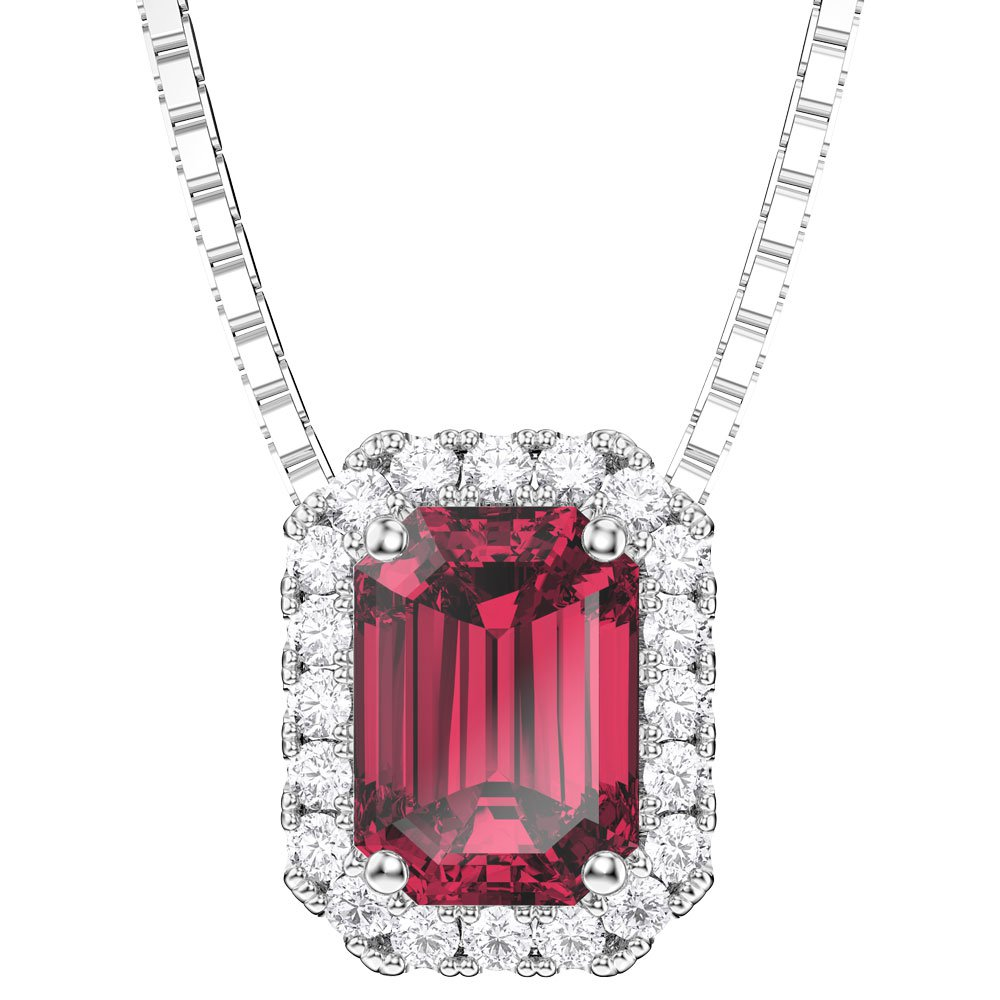 Princess 1ct ruby platinum plated silver rectangle pendantjian princess 1ct ruby platinum plated silver rectangle pendant aloadofball Choice Image