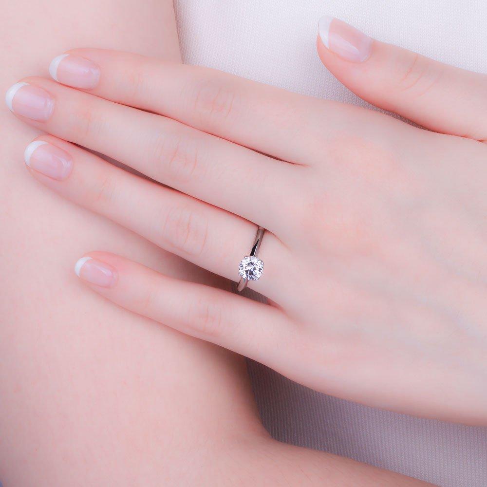 Unity 1ct G SI1 Diamond Platinum Engagement Ring:Jian London ...
