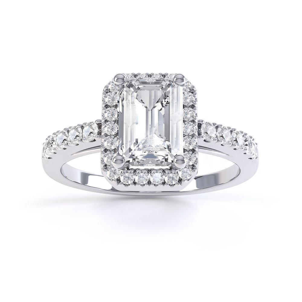 pave ct eternity platinum diamond tw p rings pav shop for ring in