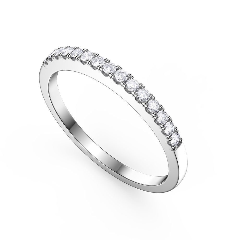 and luxurman by black platinum band diamond rings eternity white main