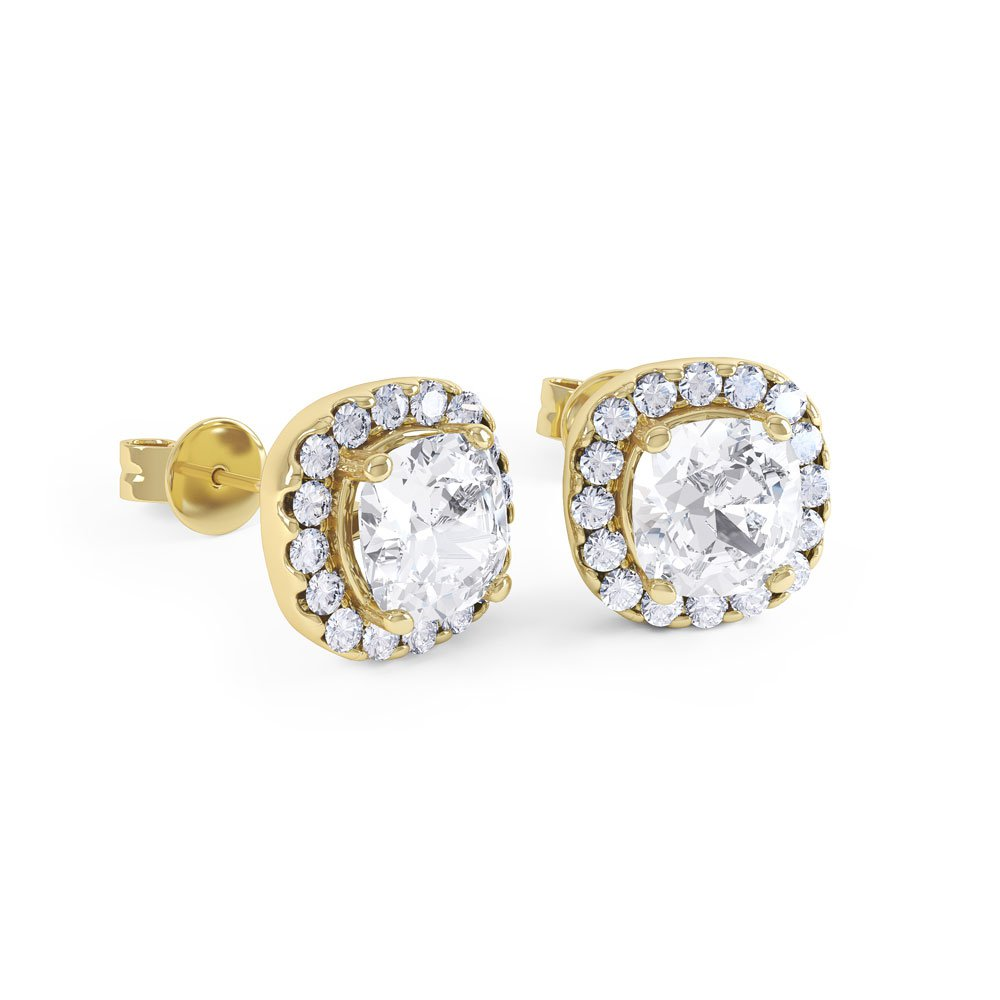 stud diamond yellow and halo gold ruby eternity earrings